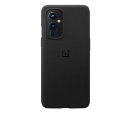 Etui / obudowa na smartfona OnePlus Sandstone Bumper Case do OnePlus 9 czarny