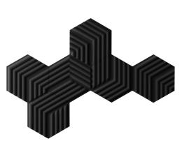 Pianki akustyczne Elgato Wave Panels - Starter Kit (Black)