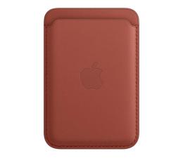 Etui / obudowa na smartfona Apple Skórzany portfel iPhone 12 pustynna glina