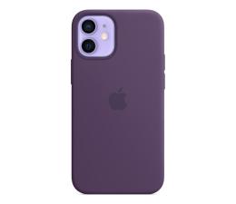 Etui / obudowa na smartfona Apple Silikonowe etui iPhone 12 mini ametyst