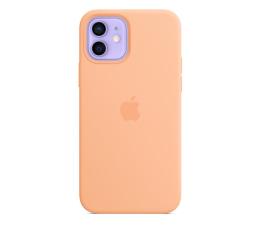 Etui / obudowa na smartfona Apple Silikonowe etui iPhone 12|12Pro melonowe