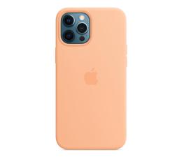 Etui / obudowa na smartfona Apple Silikonowe etui iPhone 12 Pro Max melonowe