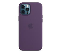 Etui / obudowa na smartfona Apple Silikonowe etui iPhone 12 Pro Max ametyst