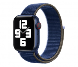 Pasek / bransoletka Apple Opaska Sportowa do Apple Watch morska otchłań