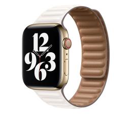 Pasek / bransoletka Apple Pasek z karbowanej skóry Apple Watch kredowy
