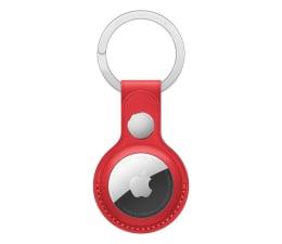 Lokalizator i akcesoria Apple Skórzany brelok do AirTag czerwony