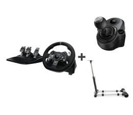 Kierownica Logitech G920 + Shifter + Stojak Xbox Series X|S / Xbox One