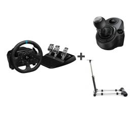 Kierownica Logitech G923 + Shifter + Stojak PS5/PS4/PC