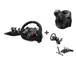 Kierownica Logitech G29 + Shifter + Stojak PC/PS3/PS4/PS5
