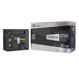 Zasilacz do komputera Seasonic Prime Fanless PX 500W 80 Plus Platinum