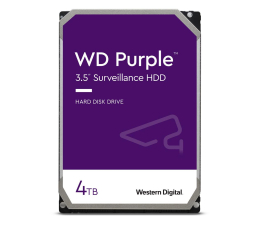 Dysk HDD WD PURPLE 4TB 5400obr. 64MB CMR