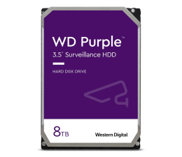 Dysk HDD WD PURPLE 8TB 7200obr. 256MB CMR