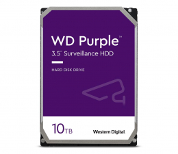 Dysk HDD WD PURPLE 10TB 7200obr. 256MB CMR