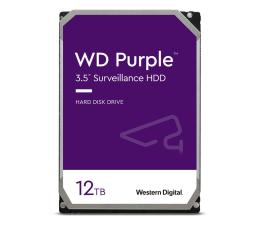 Dysk HDD WD PURPLE 12TB 7200obr. 256MB CMR