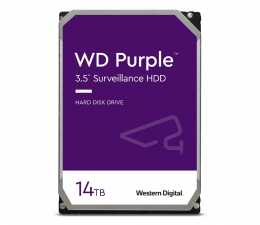 Dysk HDD WD PURPLE 14TB 7200obr. 512MB CMR