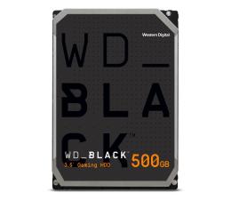 Dysk HDD WD BLACK 500GB 7200obr. 64MB CMR