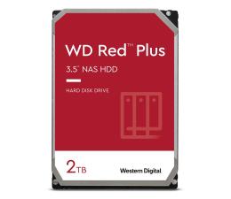 Dysk HDD WD RED PLUS 2TB 5400obr. 128MB CMR