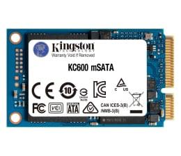 Dysk SSD Kingston 256GB mSATA SSD KC600