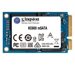 Dysk SSD Kingston 512GB mSATA SSD KC600