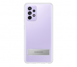 Etui / obudowa na smartfona Samsung Clear Standing Cover do Galaxy A72
