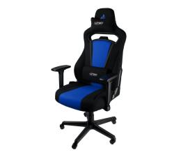 Fotel gamingowy Nitro Concepts E250 (Czarno-Niebieski)