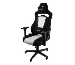 Fotel gamingowy Nitro Concepts E250 (Czarno-Biały)
