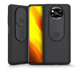 Etui / obudowa na smartfona Nillkin Camshield do Xiaomi POCO X3/X3 Pro czarny