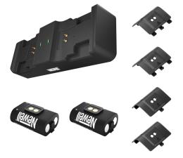 Akcesorium do pada Newell XBO Gaming Set ładowarka + 2 akumulatory - Czarny