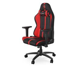 Fotel gamingowy SPC Gear SR400F RD (czarno-czerwony, materiał)