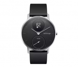 Smartwatch Withings Steel HR 36mm czarny