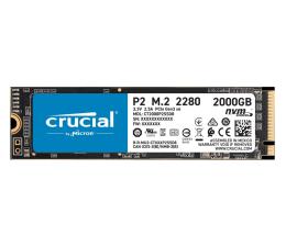 Dysk SSD Crucial 2TB M.2 PCIe NVMe P2