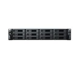 Dysk sieciowy NAS / macierz Synology RS2421+ RACK (12xHDD, 4x2.2GHz, 4GB, 2xUSB, 4xLAN)
