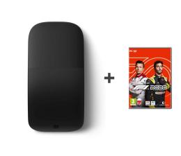 Myszka bezprzewodowa Microsoft Arc Mouse BT  Black + F1