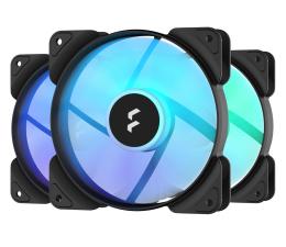 Wentylator do komputera Fractal Design Aspect 12 RGB PWM Black Frame 3 Pack