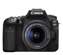 Lustrzanka Canon EOS 90D + 18-55mm IS