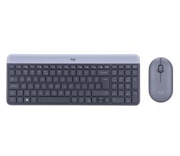 Zestaw klawiatura i mysz Logitech MK470 grafitowy