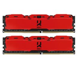 Pamięć RAM DDR4 GOODRAM 16GB (2x8GB) 3200MHz CL16 IRDM X Red