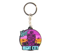 "Brelok z gier Good Loot Brelok Cyberpunk 2077 ""Visit Night City"""