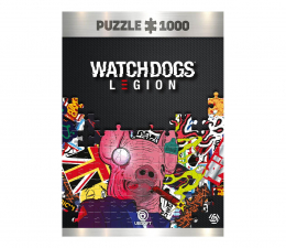 Puzzle z gier CENEGA Watch Dogs Legion: Pig Mask puzzles 1000