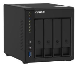 Dysk sieciowy NAS / macierz QNAP TS-451D2 (4xHDD, 4x2-2.9GHz, 2GB, 4xUSB, 2xLAN)