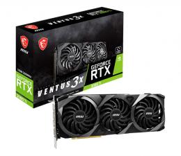Karta graficzna NVIDIA MSI GeForce RTX 3080 Ti VENTUS 3X LHR 12GB GDDR6X