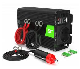 Przetwornica samochodowa Green Cell Inwerter 24V na 230V 500W/1000W