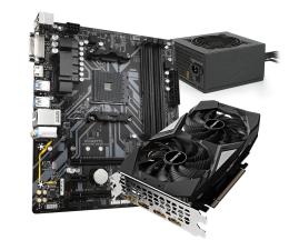 Karta graficzna NVIDIA Gigabyte Pakiet: GTX 1660 OC + B450M DS3H V2 + 550W 80+Gold