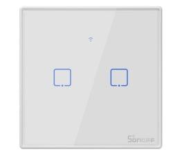Przycisk/pilot Sonoff Dotykowy włącznik WiFi + RF433 T2 EU TX 2-kanałowy