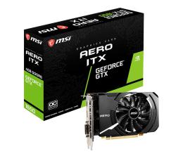 Karta graficzna NVIDIA MSI GeForce GTX 1650 D6 AERO ITX OC 4GB GDDR6