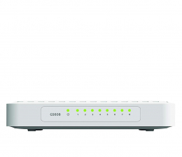 Switche Netgear 8p GS608-400PES (8x10/100/1000Mbit)