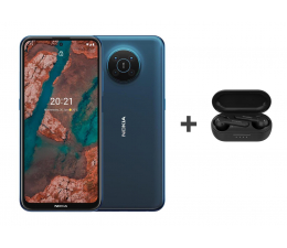 Smartfon / Telefon Nokia X20 Dual SIM 8/128 niebieski 5G+Nokia Lite Earbuds