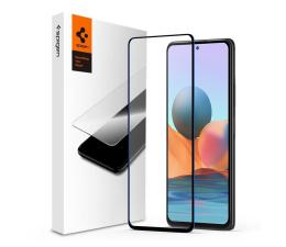 Folia / szkło na smartfon Spigen Glass FC do Xiaomi Redmi Note 10/10S