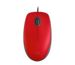 Myszka przewodowa Logitech M110 Silent czerwona