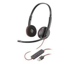Słuchawki biurowe, callcenter Plantronics Blackwire C3220 USB-A